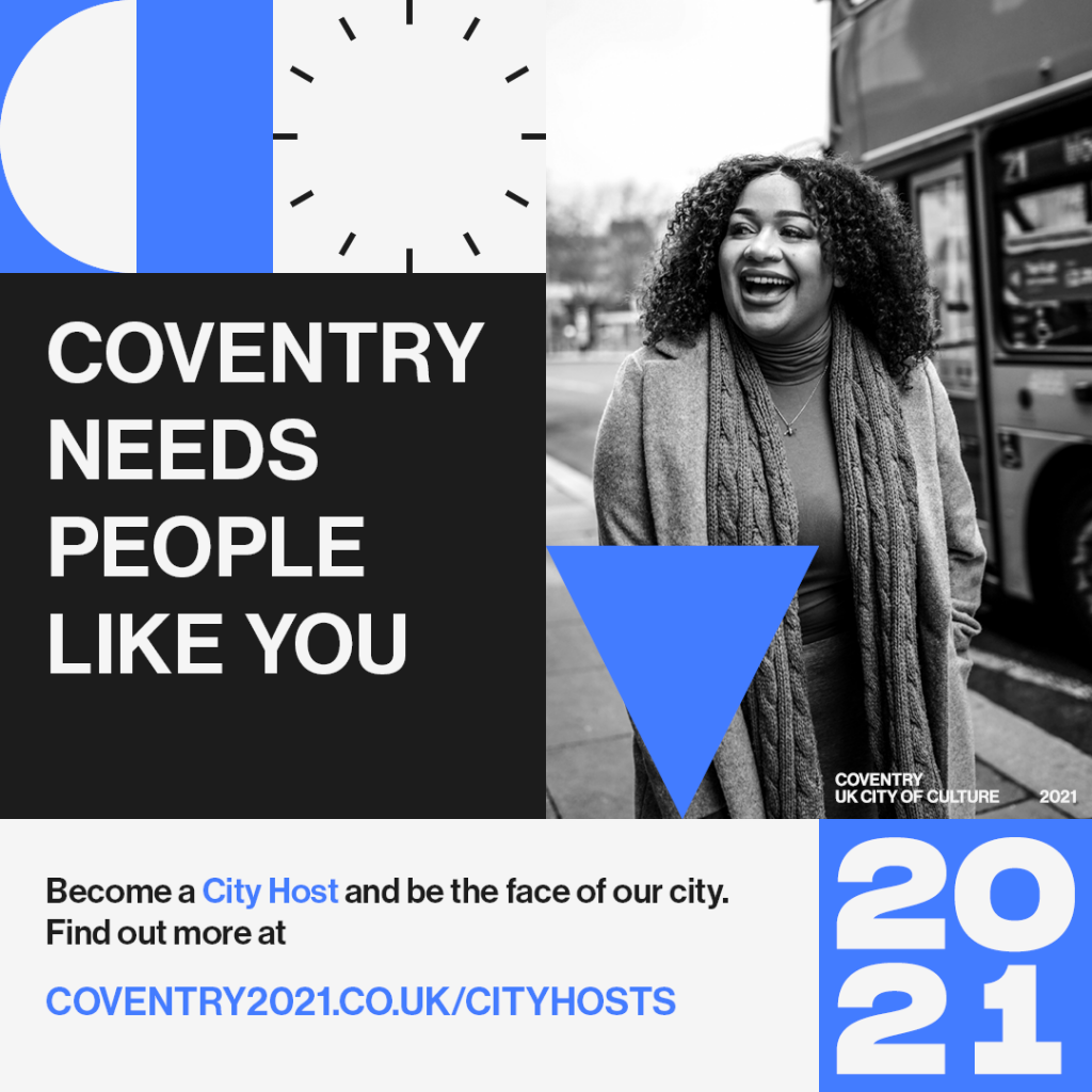 Coventry needs people like you - City Hosts